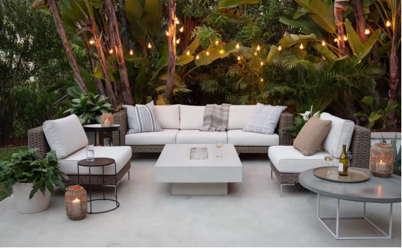 Spending more time outside? Patio Lights to help you create a backyard oasis