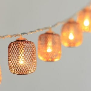 Mesh Covers String Lights KF02360BO