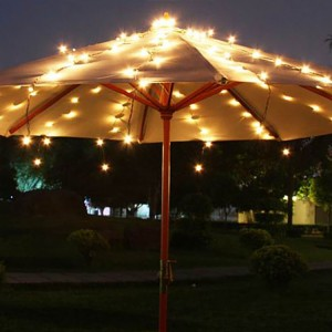 Umbrella Lights String Outdoor LED Patio Decor KF01006