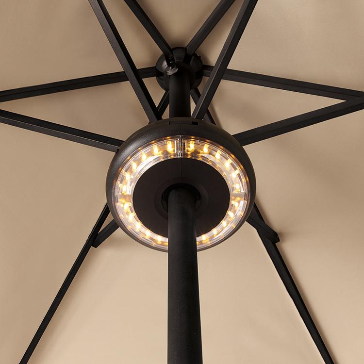 Decorative LED Lights Patio Umbrella with Remote Control KF09009 Featured Image