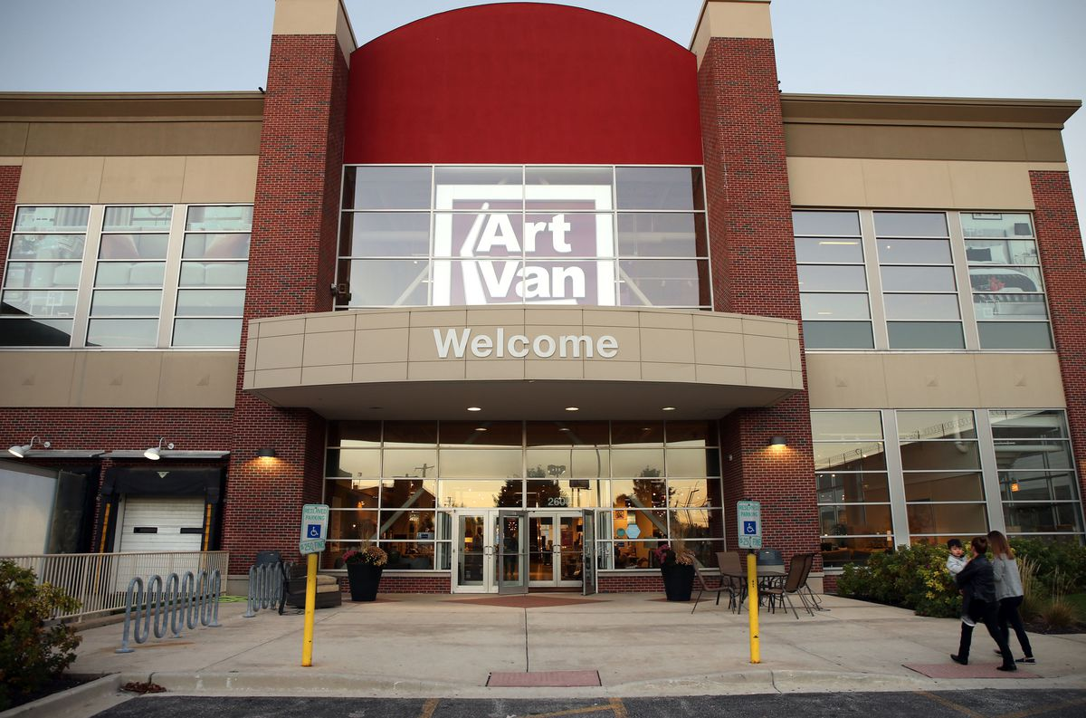 Art Van was acquired by Loves Furniture,Bed Bath & Beyond gradually resumes business