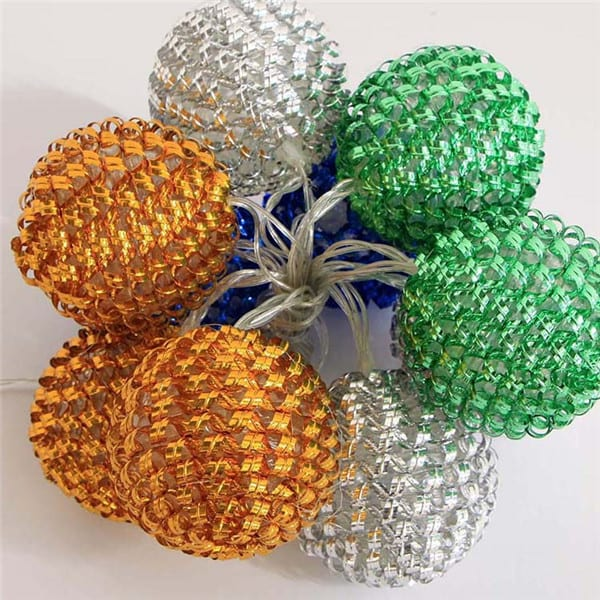 Prepainted Aluminum Sheet Outdoor Holiday Decoration Light - PP-Plastic Covers  MYHH02269-BO(B) – Zhongxin