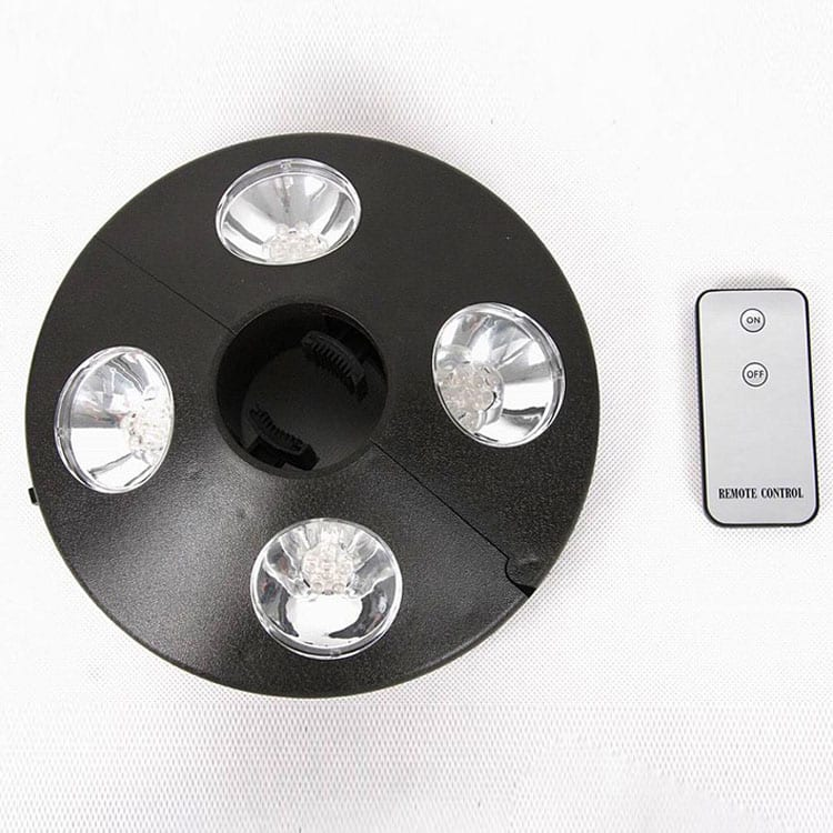 Battery Operated LED Lights for Umbrella Pole KF09002 Featured Image