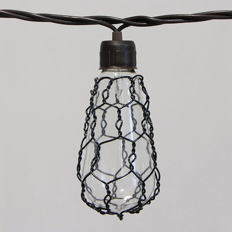 Matt Pre-Painted Steel Coil String Of Edison Bulbs - Glass Comb. Covers MYHH01837 – Zhongxin