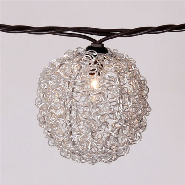 Matt Color Steel Coil Feit String Lights - Wire-Wire+beads Covers  MYHH01031 – Zhongxin