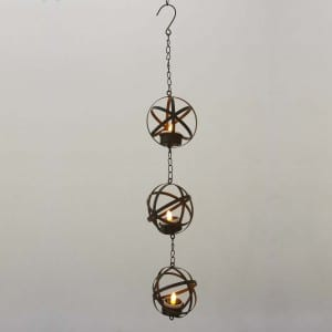Hanging LED Tea Light Holder  MYHH05017