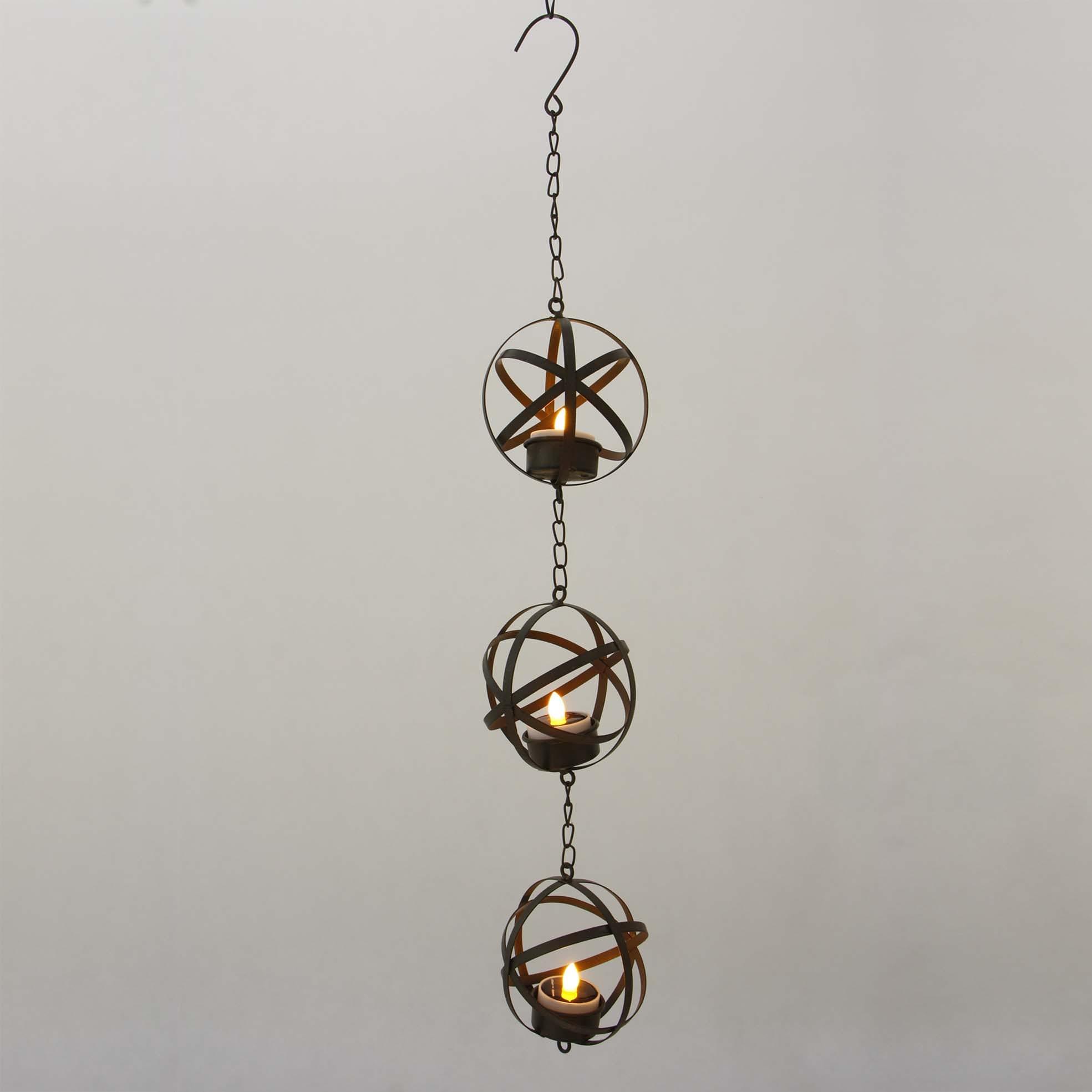 Hanging LED Tea Light Holder  MYHH05017 Featured Image