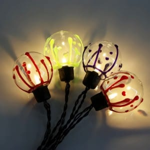 Glass String Lights&String Lights Outdoo KF02022BOR