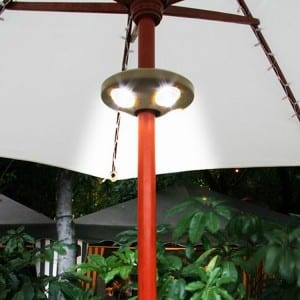 Clamp-On LED umbrella Lights  MYHH09002-C.G.