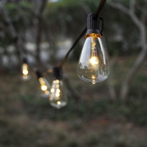 ZhongXin,10 LED Light Bulbs Solar String Light for Backyard&Waterproof Heavy Duty Outdoor Solar Lights