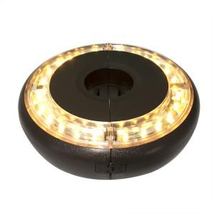 Decorative LED Lights Patio Umbrella with Remote Control KF09009
