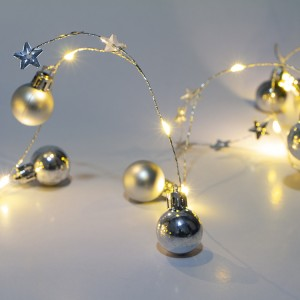 20 LED Decorative Wire Light Ball Shape Christmas String Lights