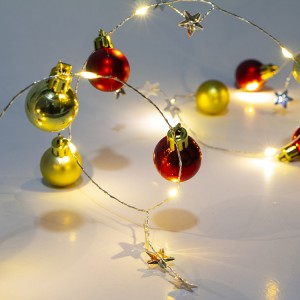 20 LED Christmas Decorative Wire Light Ball Shape LED String Lights