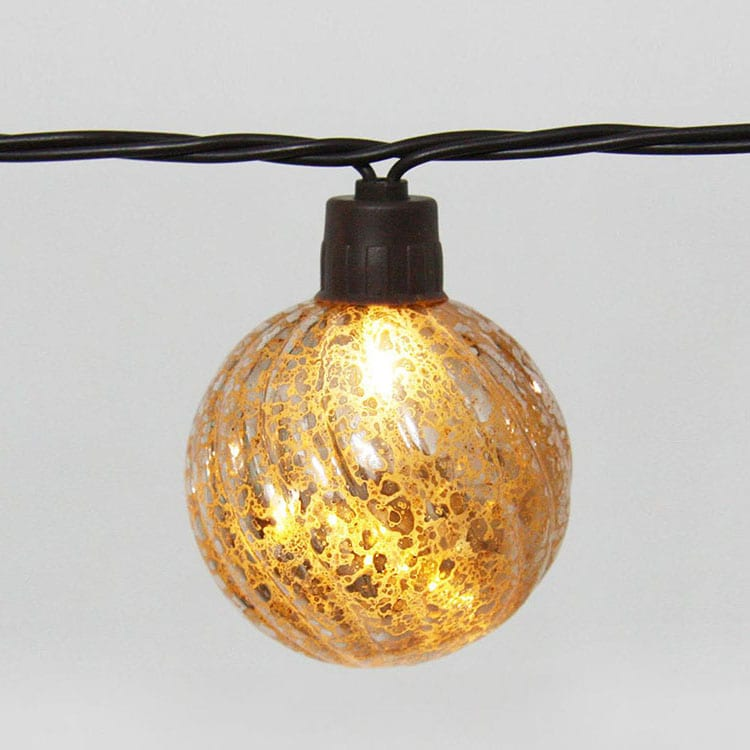 Pre-Painted Steel Plate Party Lights String -