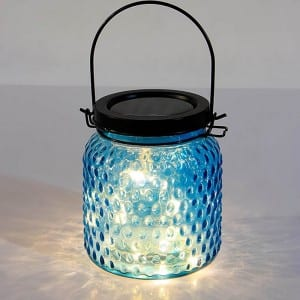 Solar Powered Vintage Lights String Outdoor Lighting Decor