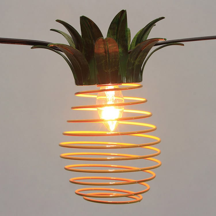 Corrugated Aluzinc Steel String Lights Outdoor - Cafe SL- Metal Comb Shades  MYHH93129  – Zhongxin