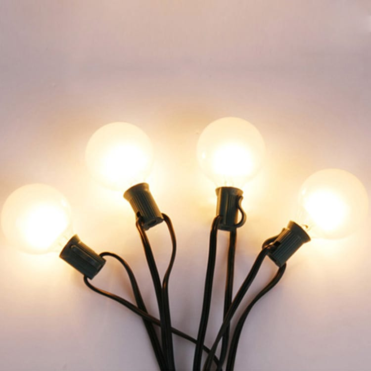 G40 Globe String Light Outdoor with 20 Edison Bulbs Featured Image