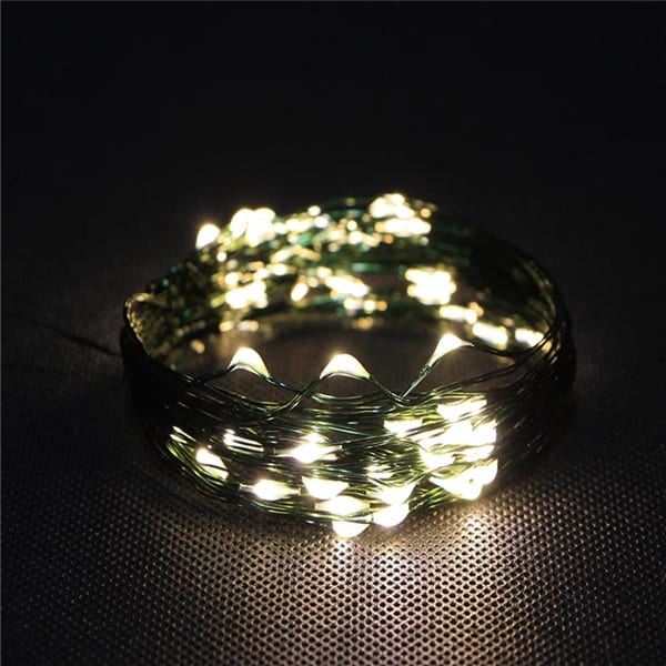 Tin Box Balcony String Lights -