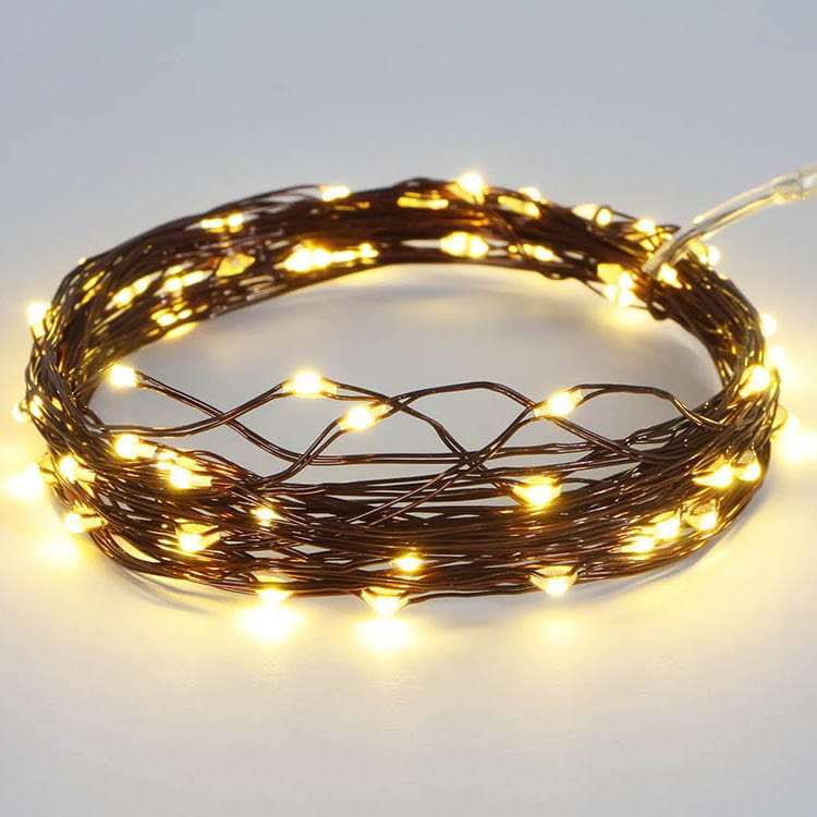 Color Coated Steel Fairy Lights Bedroom -