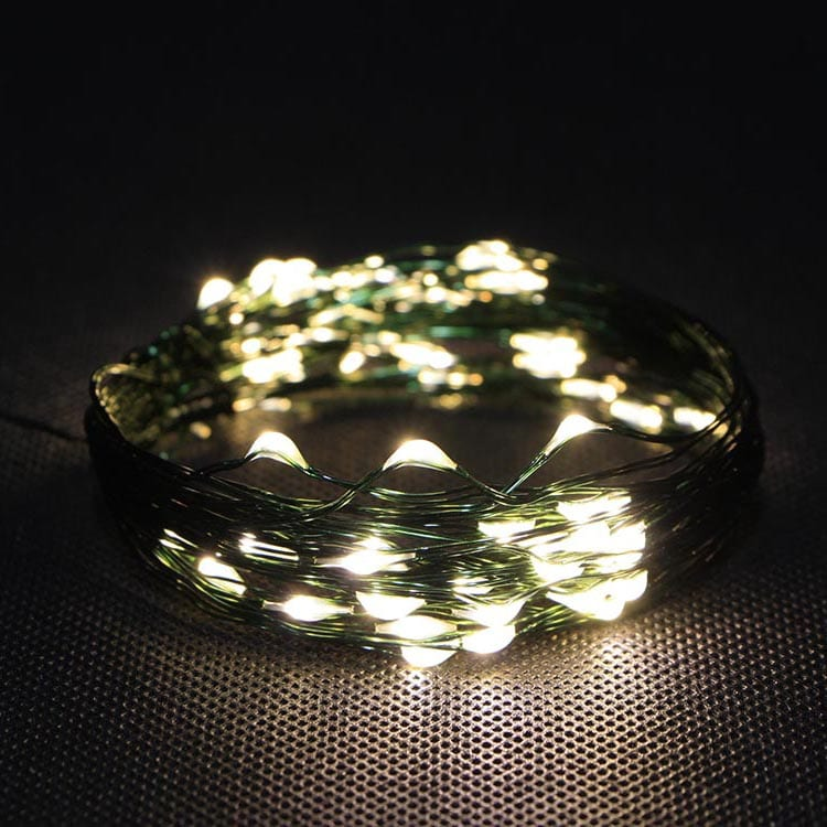Aluzinc Roof Steel Decorative Outfit String Lights -