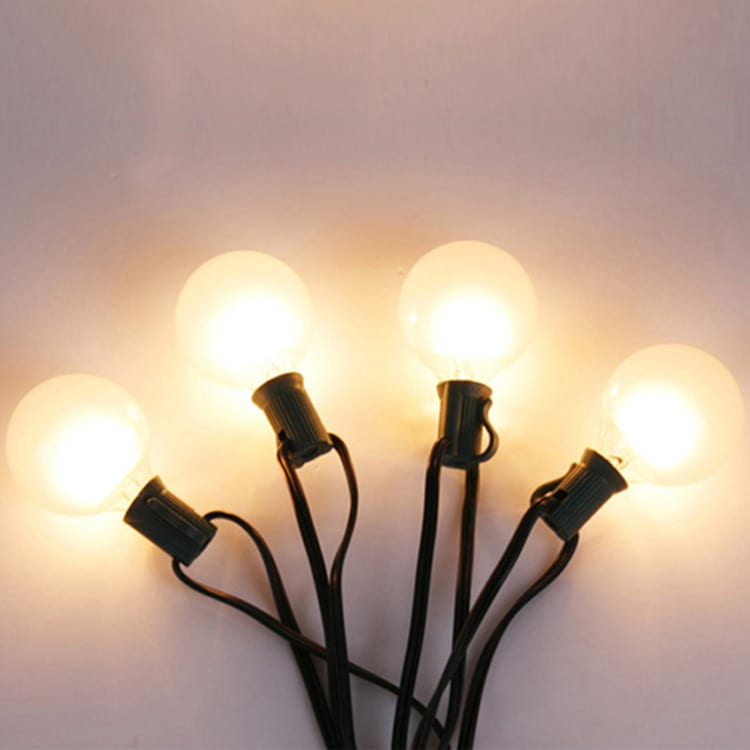 Printted Tinplate Icicle Lights - Incandescent String Light  MYHH19001F/MYHH19001W G50 – Zhongxin