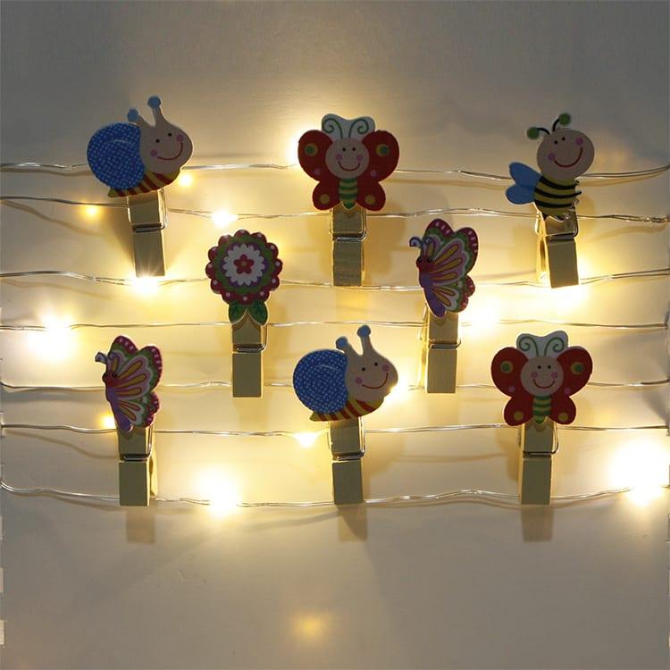 Steel Plate Umbrella Lights - Peg Clip LED SL  MYHH67734 – Zhongxin