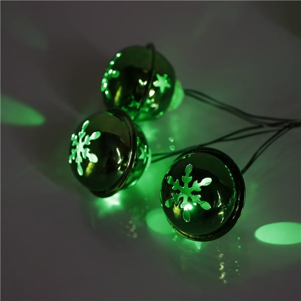 Corrugated Steel Multi Colored Led String Lights -