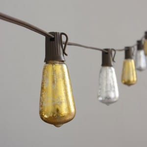 Incandescent & LED Edison Bulb String Light  MYHH19042