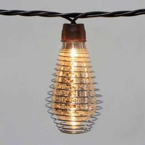 Corrugated Ppaz Steel Sheet Party Decorative Light String - Glass Comb. Covers  MYHH01529 – Zhongxin