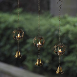 Hanging Candle Solar LED Lights Home Decoration