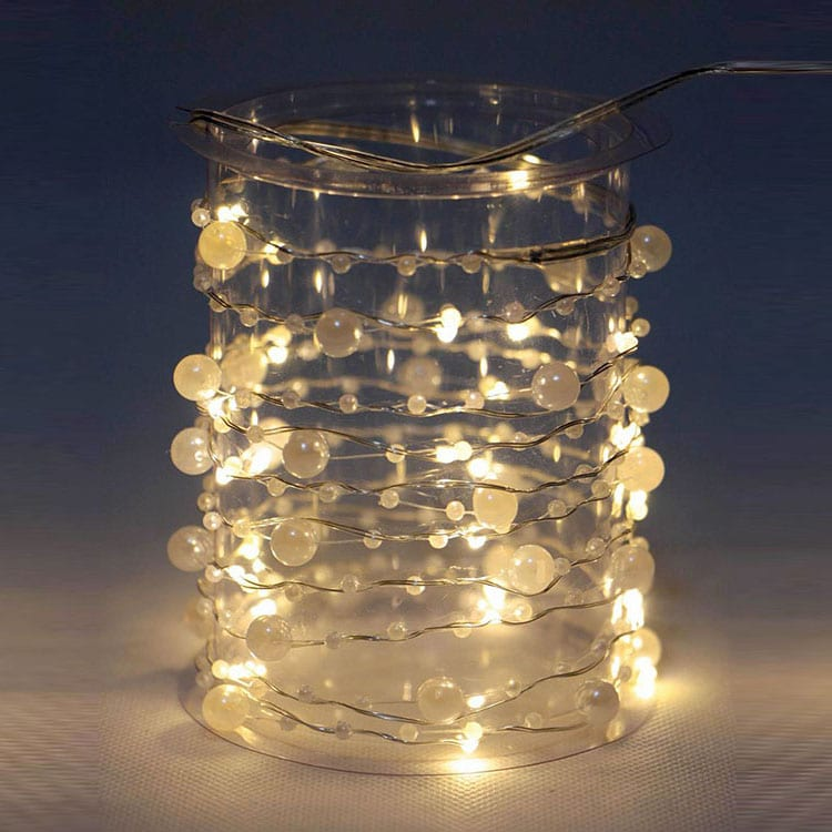 China Metal Sheet Manufacturer Rgb Led Christmas String Lights -