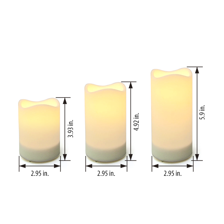 Solar Candles Outdoor Flicker LED Lighting Decor Featured Image