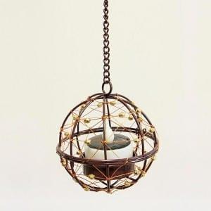 Hanging LED Tea Light Holder  MYHH130094