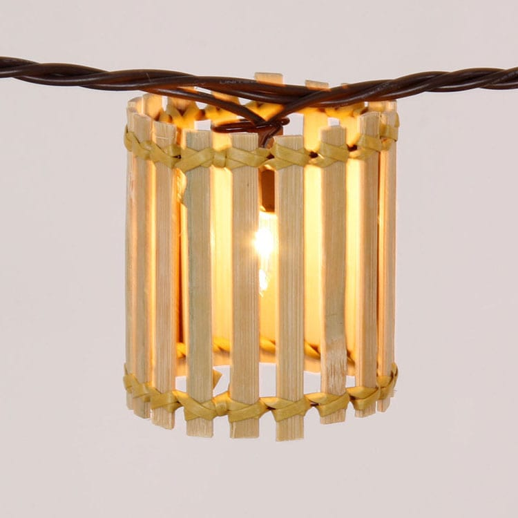 China Steel Manufacturer Rope String Lights -