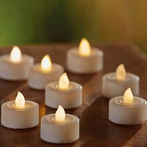 BO Tea Lights LED Candle Flickering for Indoor Use KF68019