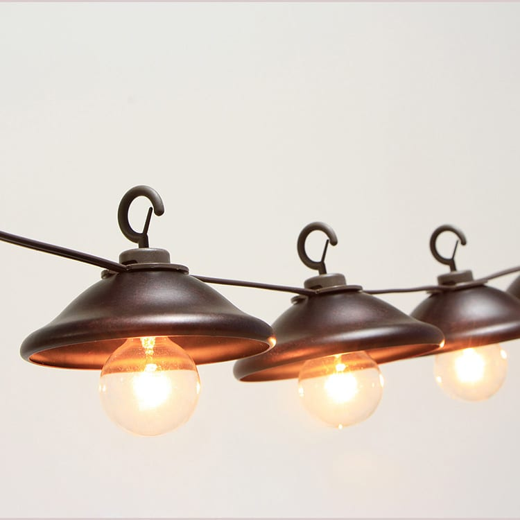 Matt Ppgl Edison Bulb Outdoor String Lights -
