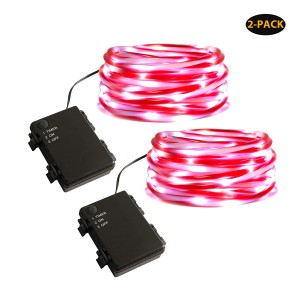 1.65FT Candy String Light Christmas LED Rope Lights