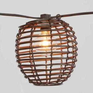 Alu-Zinc Steel Sheet Garden Decorative Lights - Plastic Comb Shades  MYHH93106 – Zhongxin