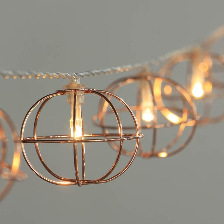 Steel Coil Cafe Lights -