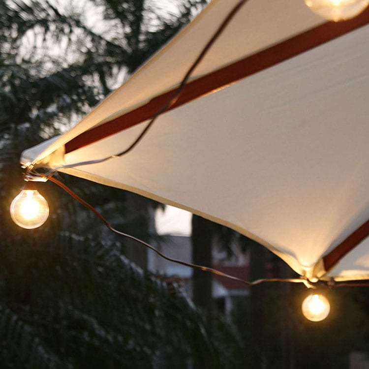 Color Coated Steel Plate Lanterns Battery Powered - Decorative Umbrella Lights  MYHH41008 – Zhongxin
