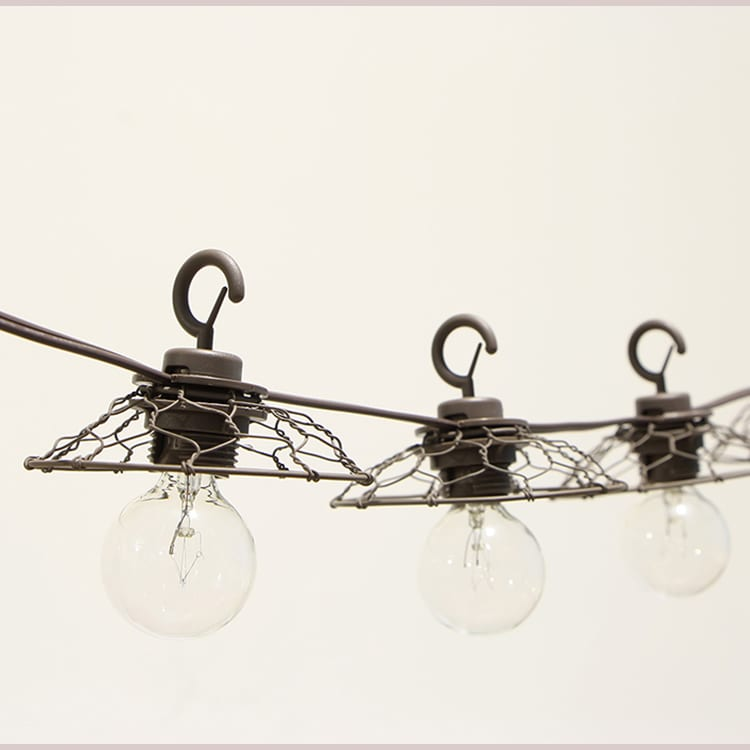 Pre_Painted Steel Strip Rattan Lights -