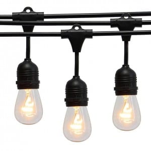 Vintage Outdoor Heavy Duty String Lights MYHH45018 15CT