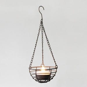 Battery Operated LED Tea Light Holder Hanging Decor