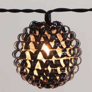 Plastic String Lights&Plastic Ball Lights KF02269BO
