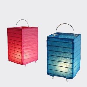 Paper _ Fabric Shapes Lanterns  MYHH87009