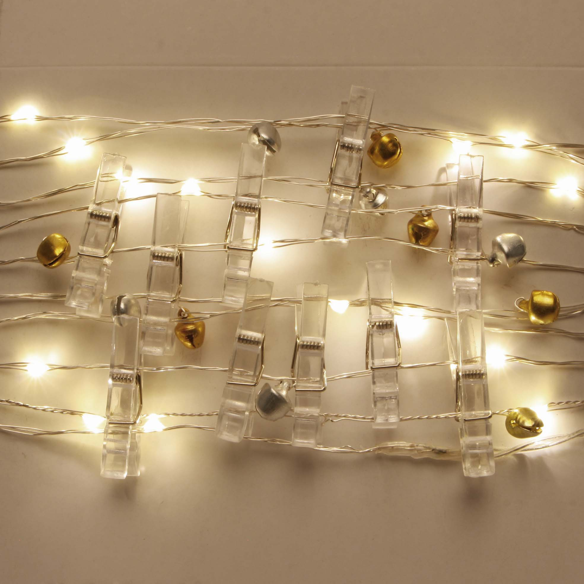 Corrugated Alu-Zinc Steel Sheet Rice Paper Cover String Lights -