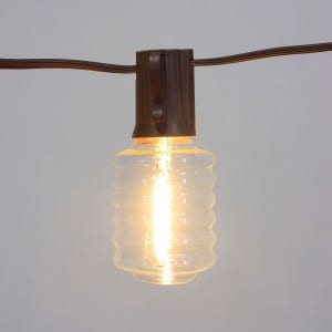 Edison Light Bulb LED with Decorative Lantern Shaped