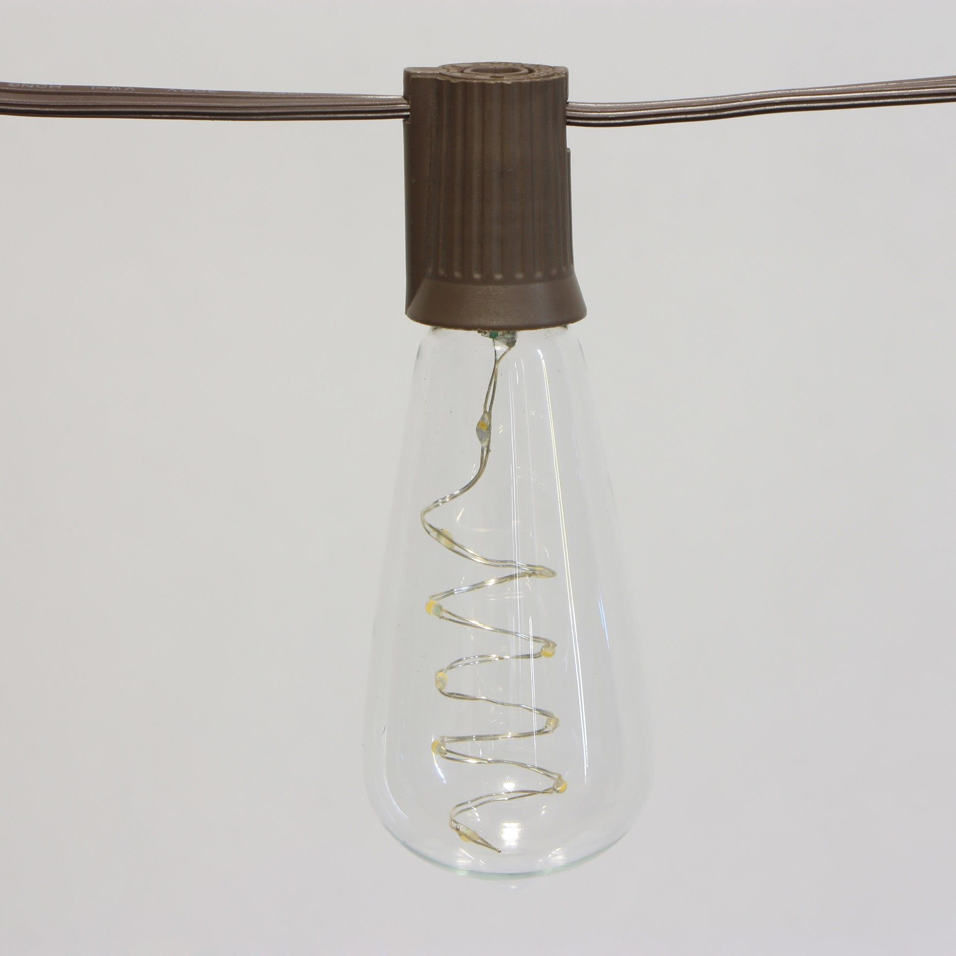 Gl Steel Cafe String Lights - Incandescent String Light  MYHH90033-SO – Zhongxin