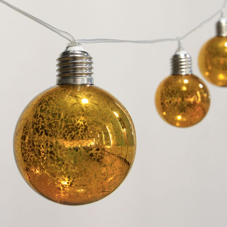 Gi Roof Warm White String Lights -