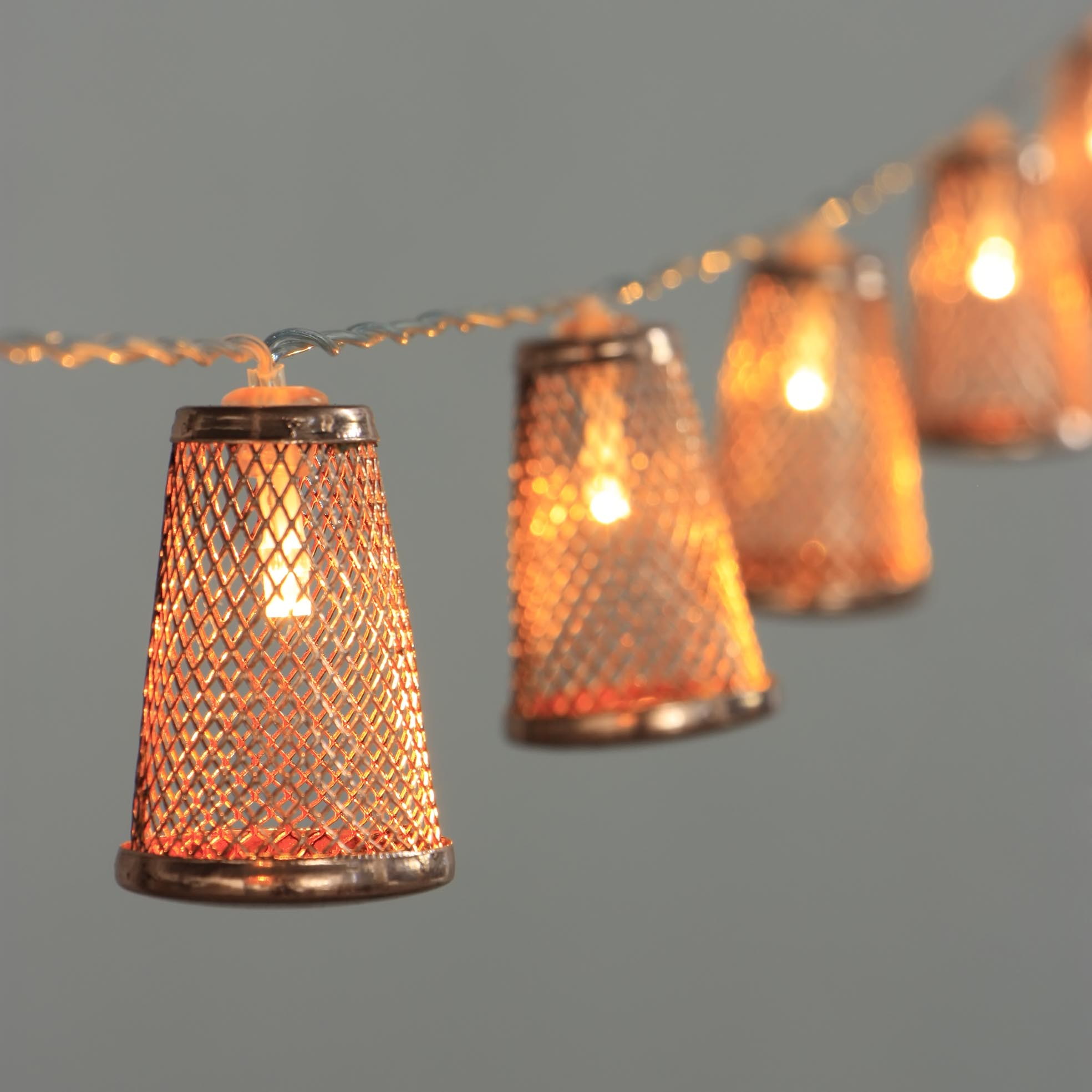 Prepainted Roof Sheet Garland String Lights -